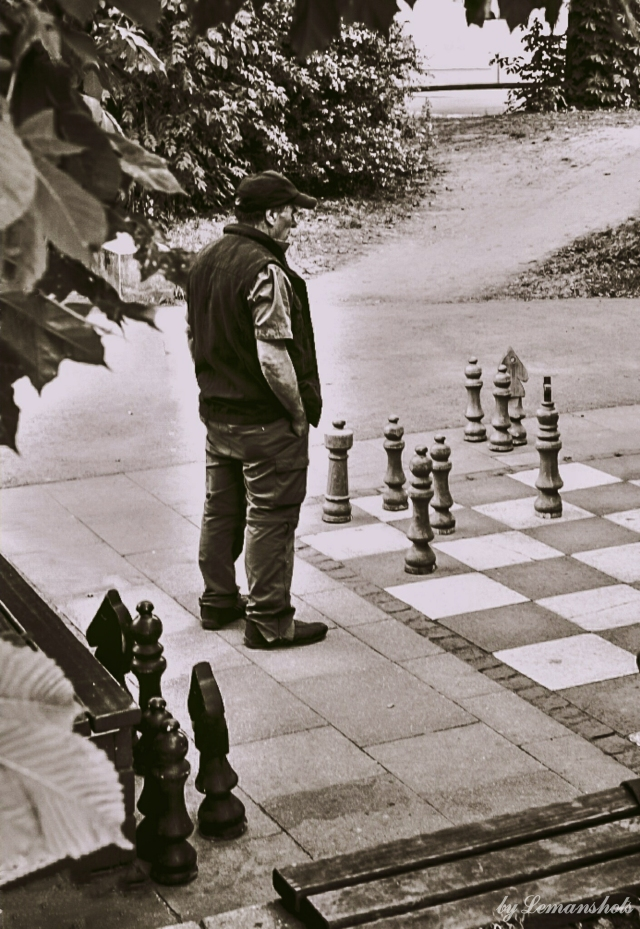 Street Chess Player.